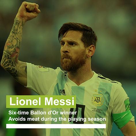 Messi teste